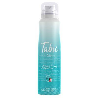 Desodorante-Aerossol-Antitranspirante-Tabu-Livre-150ml